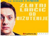 Andrija Milošević ponovo stiže u Sarajevo - Pogledajte hit predstavu 'Zlatni lančić od bižuterije' 8. marta u Domu mladih