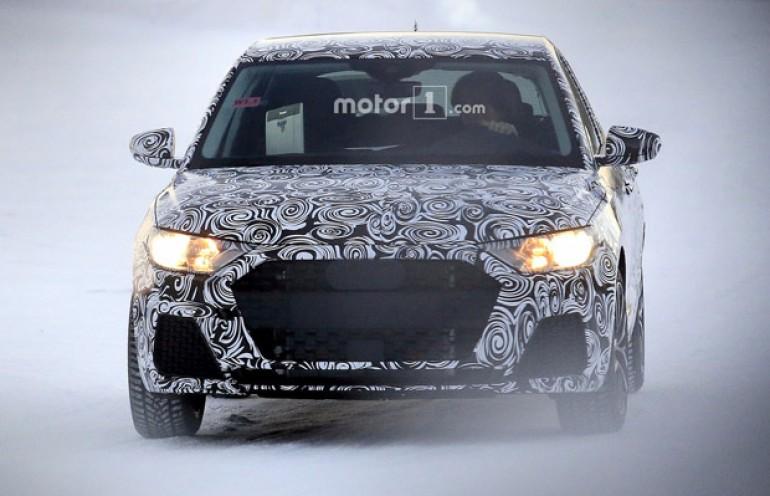 Novi Audi A1 uhvaćen na testiranju
