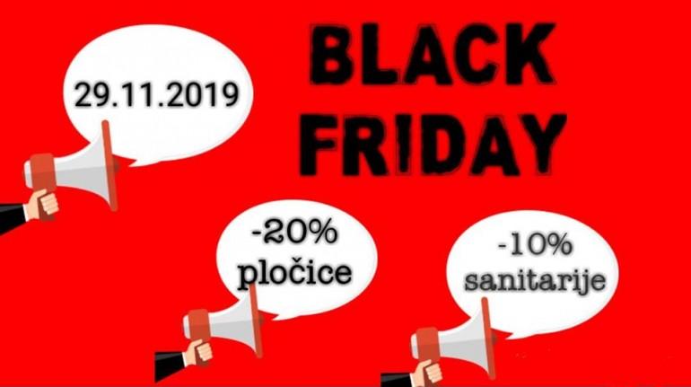Black Friday u prodajnom salonu BIBA BiH – Posebno povoljno nabavite sve za kupatilo