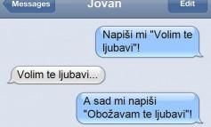 Ovo je najbolji odgovor dosadnoj djevojci - SMS DANA