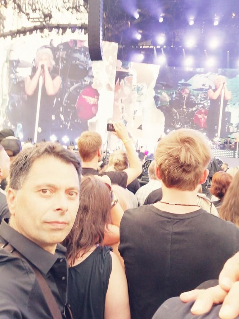 """Ispunio sebi želju- Alen Hrbinić uživao na rock spektaklu """"Bon Jovija"""" u Minhenu"""