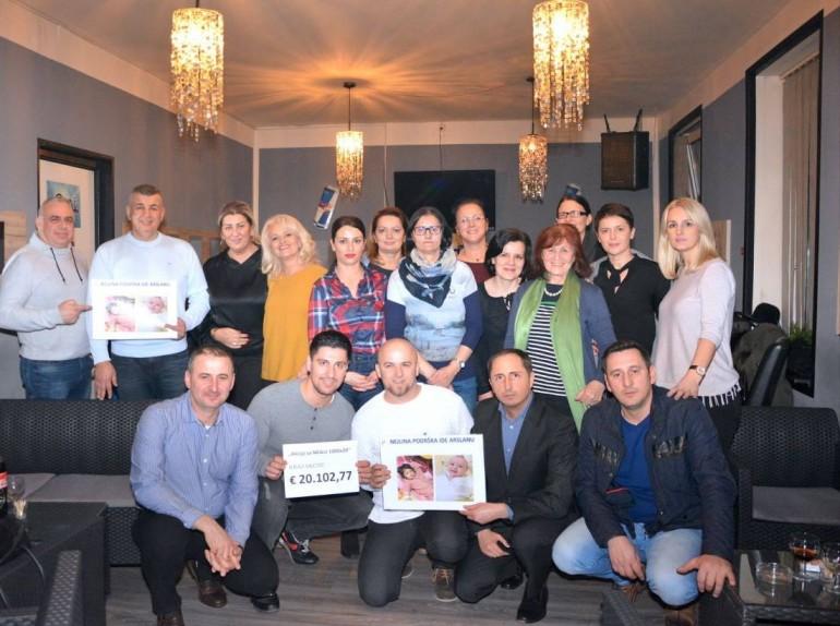 Dijaspora pokazala veliko srce – Za šestogodišnju Nejlu Alibašić prikupljeno 20.000 eura