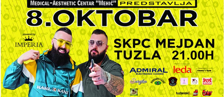 Jala Brat & Buba Corelli te pozivaju na veliki koncert u Tuzli