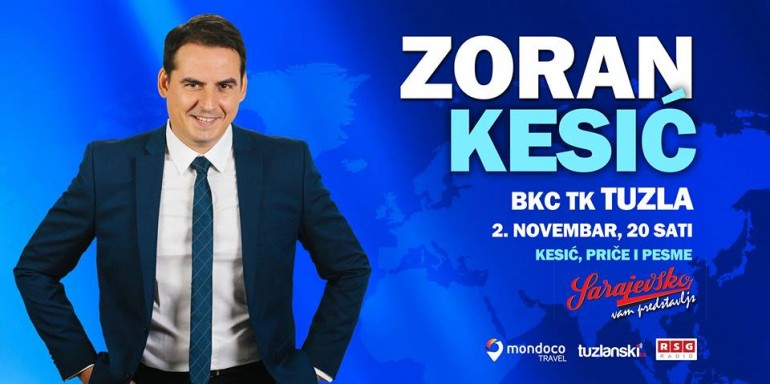 Zoran Kesić u BKC TK Tuzla 2. novembra