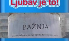 Romantični gest momka iz Živinica postao viralni hit! Podržavate li vi ovakvu izjavu ljubavi? (FOTO)