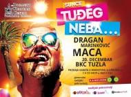 """Predstava  """"Sunce tuđeg neba"""" Dragana Marinkovića Mace 20.decembra u BKC-u Tuzla"""