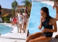 Šetala pored bazena, pa upala u vodu: Blam lijepe misice prepričava cijeli svijet (VIDEO)