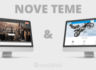 Predstavljamo dvije nove mojWeb teme – profesionalni web dizajn vama na raspolaganju