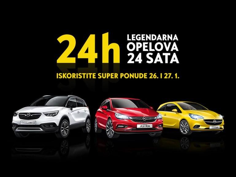 Legendarna Opelova 24 sata počinju u petak u Grand autu d.o.o.