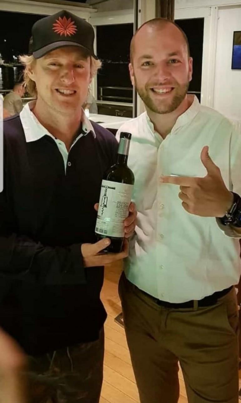 Holivudski glumac u Splitu uživao u hercegovačkim vinima