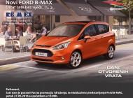 U petak u REMEX-u promocija novog FORD B-MAX-a