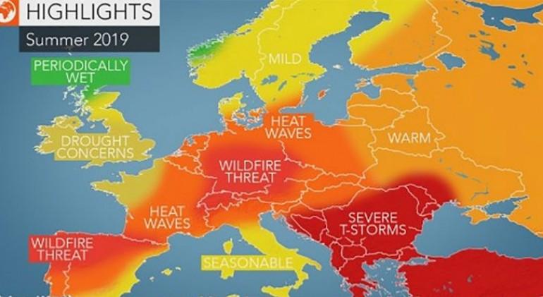 AccuWeather objavio prognozu za ljeto 2019 – VREMENSKA PROGNOZA ZA BALKAN I LJETO 2019 VEĆ ZABRINJAVA
