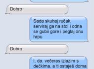 SMS DANA: Da li je pametno pisati ovakve poruke sopstvenoj ženi?