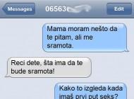 SMS DANA: Kad majka objašnjava kćerki kako je to kad imaš prvi put seks