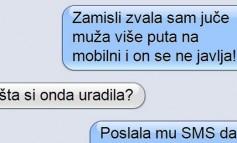 SMS DANA: Ženska taktika - Kako da natjeraš muža da te odmah nazove
