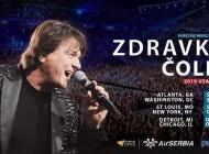 Zdravko Čolić na velikoj američkoj turneji: U subotu spektakl u Atlanti