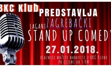 Tuzlanski BKC Klub pokreće sezonu stand up večeri - Lagani Zagrebački Stand Up!