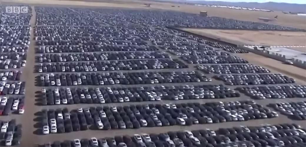 Ovo je najveće groblje automobila na svijetu – 300.000 Volkswagena čeka svoju sudbinu