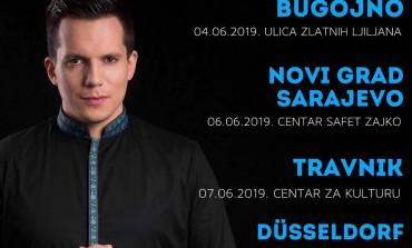 Bajramski koncerti Armina Muzaferije u BiH i Njemačkoj