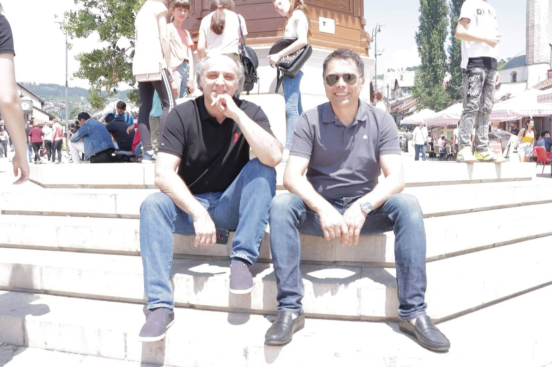 Alen Hrbinić sarađuje sa Muharemovićem i Sarihodžićem - Velika mi je čast biti u krugu najboljih u BiH