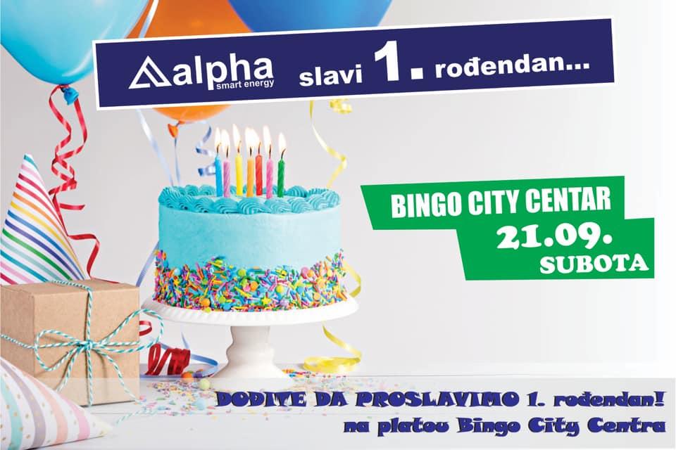 """Proslavimo zajedno 1. rođendan kompanije """"alfa smart energy"""""""