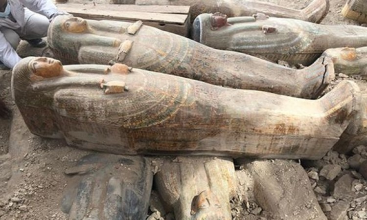 Egipat - Arheolozi otkrili detalje o 30 nedavno otkrivenih drevnih kovčega