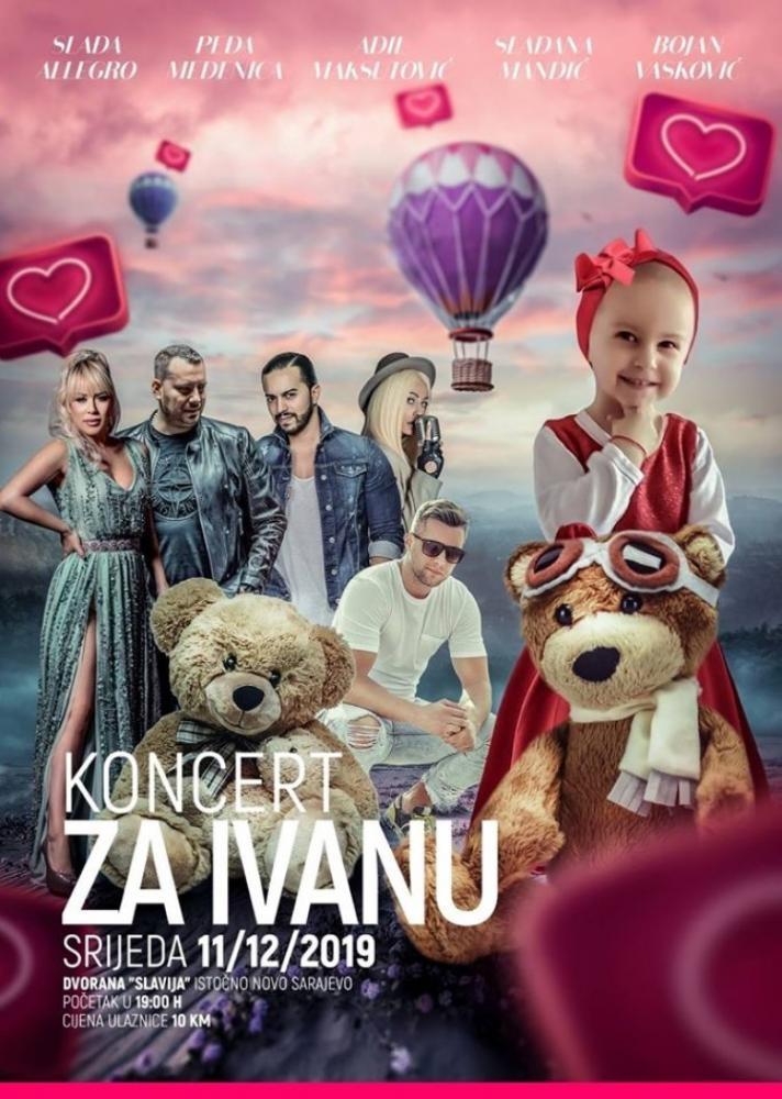 Djevojčica Ivana Bjelogrlić ujedinila pjevače iz BiH i Srbije