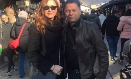 Aleksandra Radović u Sarajevu predstavila novi album i uživala u šetnji Baščaršijom