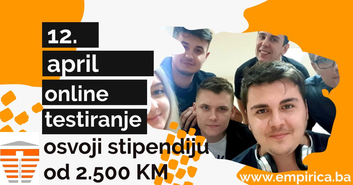 Osvoji stipendiju od 2500 KM – ONLINE eMPIRICA ICT Challenge 2020