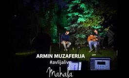 """Projekat Avlija live: Armin Muzaferija svira pjesme koje volite, prvo objavio """"Mahalu"""""""